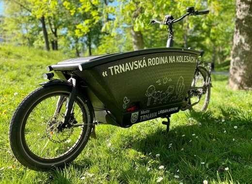 کاهش آلودگی هوا در اسلواکی با دوچرخههای باری جدید
