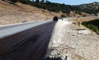 خط دوم جاده یاسوج –سمیرم ۹۶ درصد پیشرفت فیزیکی دارد