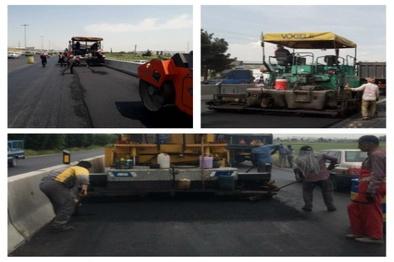 بهسازی و روکش آسفالت 15 کیلومتر از راه های اصلی استان البرز