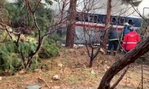 سقوط هواپیما قرقیزستانی در صفادشت