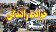 40 مصدوم و پنج کشته تصادف رانندگی 9 روز گذشته در زنجان