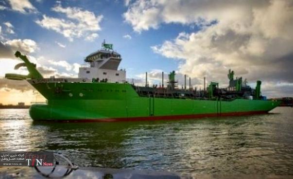 DEME's LNG powered TSHD SCHELDT RIVER launched