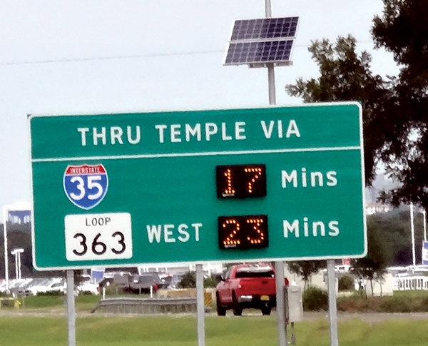 TTI's Traveler Information System vital to TxDOT's I-35 improvement project