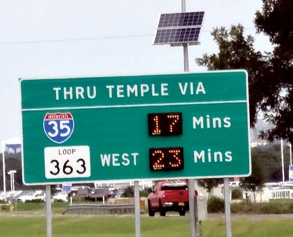 TTI's Traveler Information System vital to TxDOT's I-35 improvement project