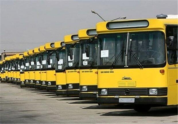 ۱۵۰ دستگاه اتوبوس دیگر برای انتقال زوار ایرانی به عراق اعزام شدند