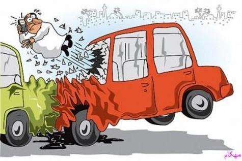 2 کشته 7 مصدوم در تصادفات رانندگی