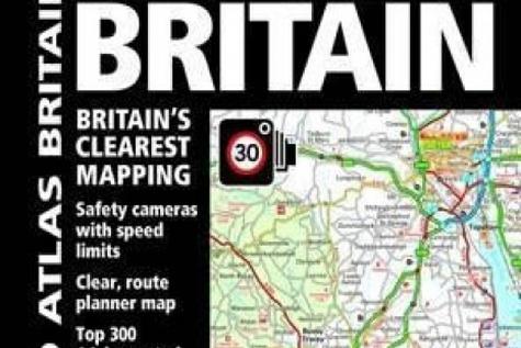 AA Road Atlas Britain ۲۰۱۷