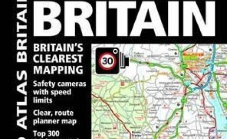 AA Road Atlas Britain ۲۰۱۷