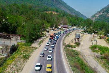 مازندران سومین استان پر تردد کشور