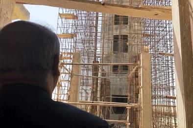 پیشرفت 75 درصدی پروژه ساختمان تکنیکال بلاک و برج مراقبت فرودگاه بینالمللی قشم