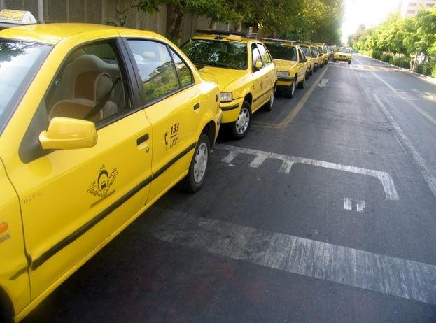 تردد درخط ویژه تاکسیهای ایلام ممنوع است
