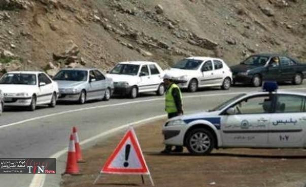 تردد در جاده های یزد آرام است