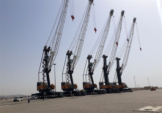 عملیات اجرایی تاسیسات زیربنایی در بندر چابهار آغاز شد