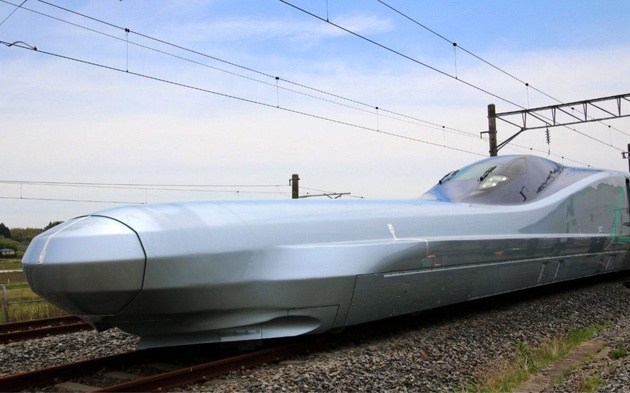 World's Fastest Bullet Train Starts High-Speed Tests