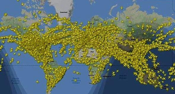 عجیبترین رکوردی که از پرواز هواپیماها در یک روز ثبت شد
