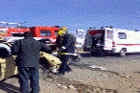 سانحه رانندگی در محور خمین - الیگودرز، ۳کشته برجای گذاشت