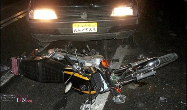 مرگ ۷۰ درصد راکبان موتورسیکلت به دلیل عدم استفاده از کلاه ایمنی است