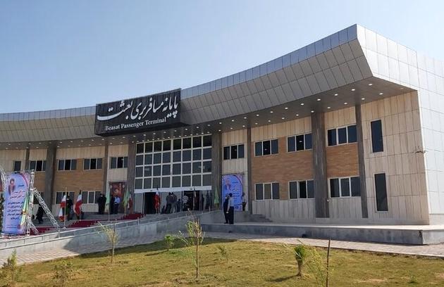 پایانه مسافربری بعثت سیرجان افتتاح شد