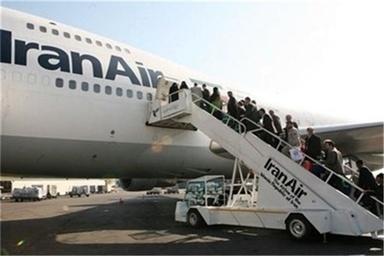 73 درصد پروازهای حج به موقع انجام شد/ انتقال 23 هزار زائر در پایان نهمین روز