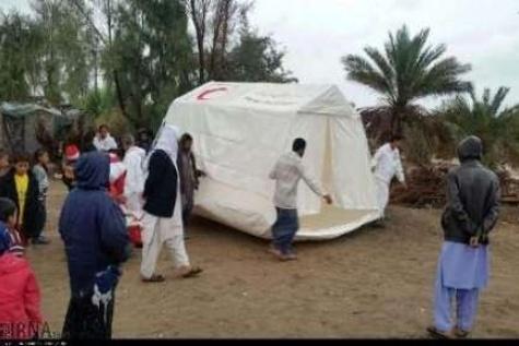 امداد رسانی به ۹۹۷۱ سیل زده در سیستان و بلوچستان
