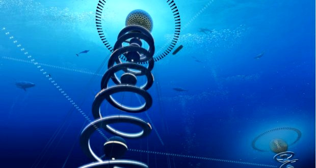 New vision sees vertical connection with deep sea