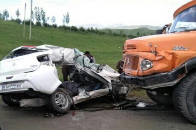 بیشترین فوتیهای سوانح رانندگی در بویراحمد