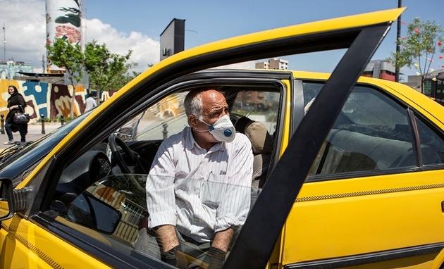 ورود بدون ماسک به تاکسی در پایتخت ممنوع شد
