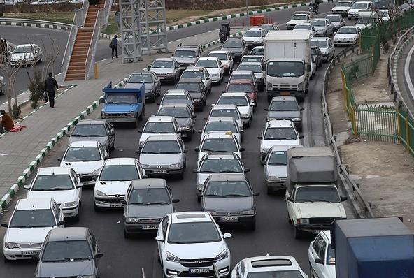 ترافیک سنگین در جادههای استان تهران