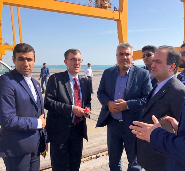 Australia calls for more port cooperation with Iran