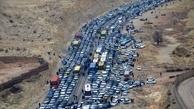 ترافیک سنگین و نیمهسنگین در محورهای مهران و خسروی