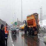 وضعیت جادههای مهاباد بدون مشکل است