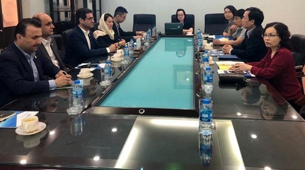 دیدار راستاد با مدیران ارشد بندر «های فونگ» ویتنام
