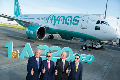 Flynas Becomes First Saudi Airline to Receive the A320neo