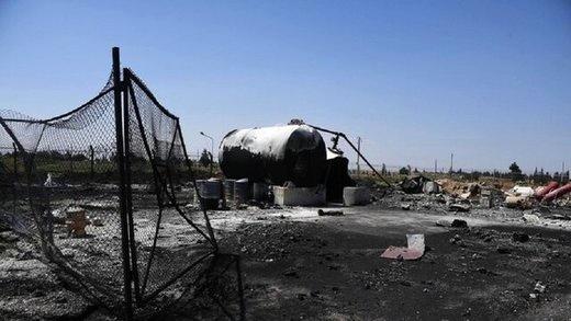 انفجار در فرودگاه الشعیرات سوریه
