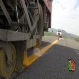 خط کشی 37 کیلومتر از محورهای مواصلاتی شهرستان نمین