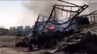 فیلم| روایت یک راننده افغانستانی از دلایل آتش سوزی در گمرک اسلام قلعه