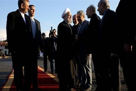 Rouhani sees 'important' deals in France
