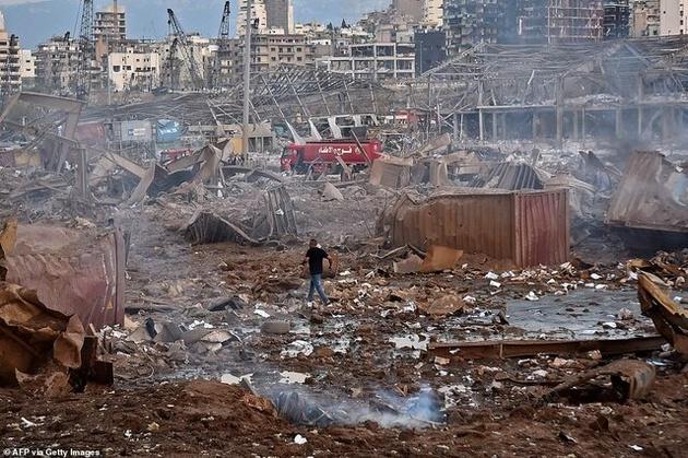 اندوه لبنان... بیروت خاکستر شد