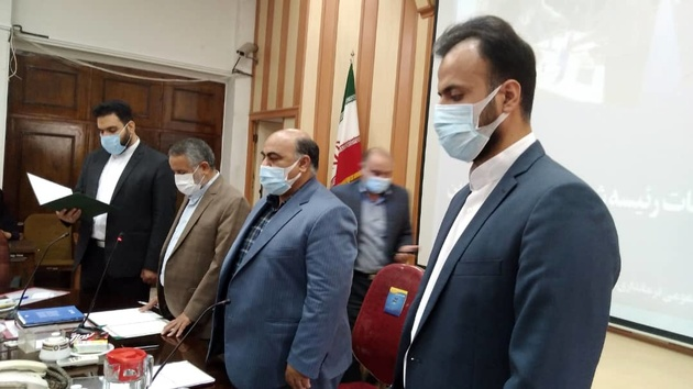 هیات رئیسه جدید شورای اسلامی شهر قزوین سوگند یاد کردند+عکس