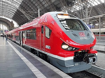 Pesa Link DMUs presented in Frankfurt