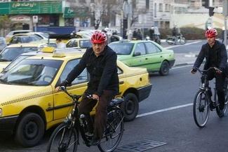 حناچی با دوچرخه به بهشت رفت