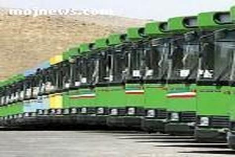 ۲۳۰ اتوبوس گازسوز وارد چرخه ناوگان اتوبوسرانی اصفهان شد