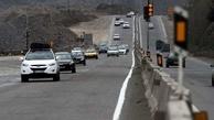 کاهش ۱۳ درصدی تردد در جاده های استان همدان