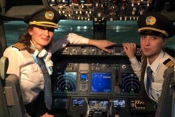پرواز جنجالی هواپیمای روسی؛ فقط با خدمه زن