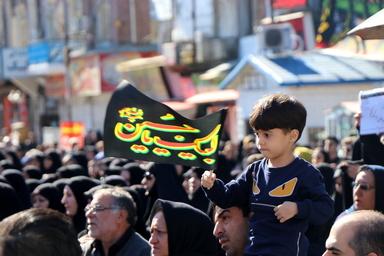 تجمع عظیم اربعین شهرستان بندرانزلی