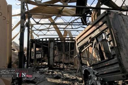 پایگاه هوایی عین الاسد پس از حمله ایران