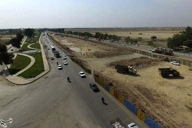 خطرات ترافیکی در ورودیهای شهرستان شوش