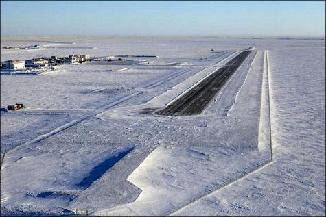 ATR روی باند یخزده