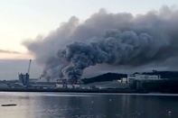 Large Fire at Ireland's Port of Cork Brought Under Control