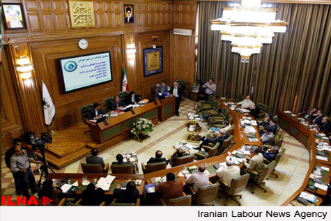 درگیری لفظی در جلسه شورای شهر تهران